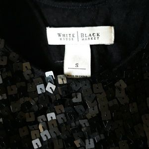 White House Black Market Tops - White House Black Market sequin tank top